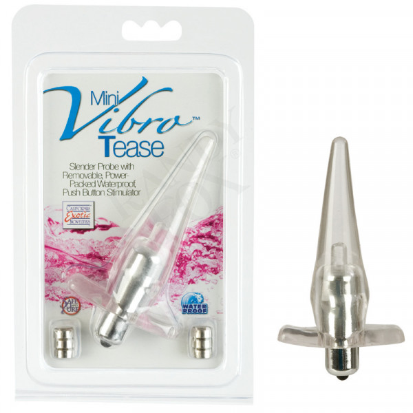 Mini Vibro Tease (Anal Toy) Grey