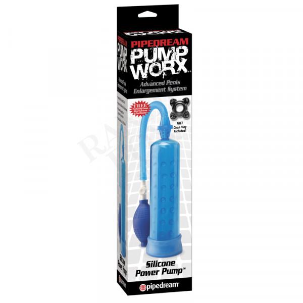 PUMP WORX - Silicone Power Pump Blue