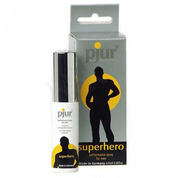 Pjur Superhero Prolonging Performance Spray