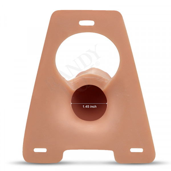 Randy Fox - Randy Rodeo Big 8.5 Inch Premium Unisex Strap-On System