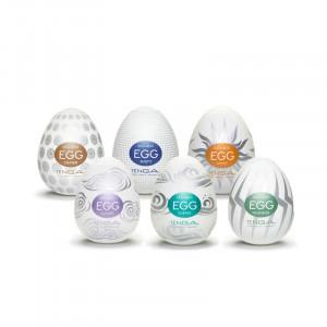 Tenga Egg - Hard Boiled Variety - 6 Pack