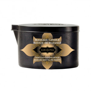 Kama Sutra Tahitian Sandalwood Massage Candle