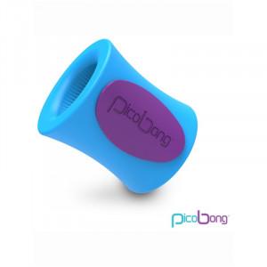 PicoBong Remoji Blowhole M-Cup Masturbation Sleeve - Blue