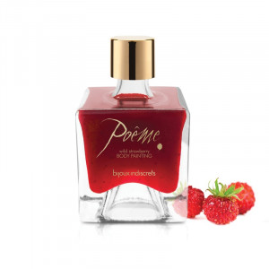Bijoux Indiscrets Poem Body Paint - Wild Strawberry