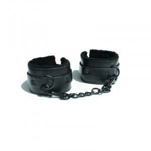 Sex And Mischief Shadow Fur Handcuffs