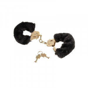 PipeDream Fetish Fantasy Gold - Deluxe Furry Cuffs