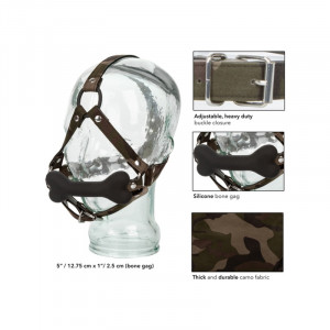 California Exotic COLT Camo Bone Gag Package