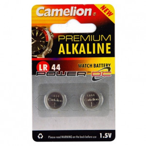 Camelion LR44 Cell Battery (2 Pack)