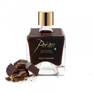 Bijoux Indiscrets Poem Body Paint - Dark Chocolate