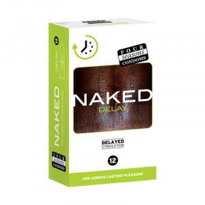 Four Seasons 12s Naked Delay Extra Strength Condom