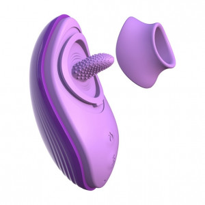Fantasy For Her - Her Silicone Fun Tongue Stimulator Kit