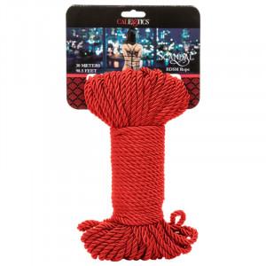 Cal Exotics Scandal BDSM Rope 30m Red