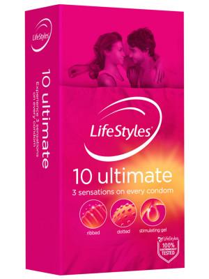 Lifestyles Ultimate 10s Condoms