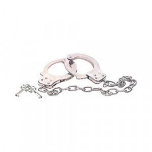 Metal Handcuff With Extra Long Chain