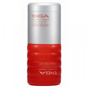 TENGA Double Hole Cup (Mens Toys)-1