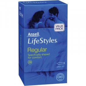 Ansell Lifestyles 24s Regular
