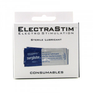 Electrastim Sterile Lubricant Sachets - 10 Pack