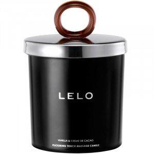 LELO Flickering Massage Candle - Vanilla & Creme De Cacao
