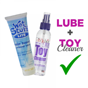 Lube and Toy Cleaner Kit | FREE Shipping Offer