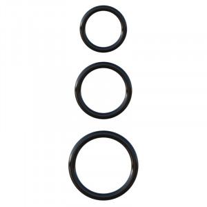 Fantasy C-Ringz - Silicone 3-Ring Stamina Set