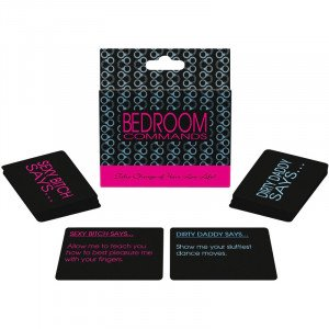 Bedroom Commands Card Game Game
