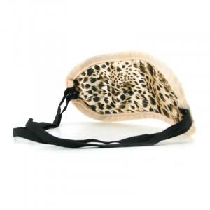 SM Satin Blindfold - Leopard