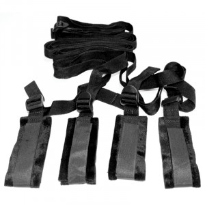 SM Bed Bondage Restraint Kit