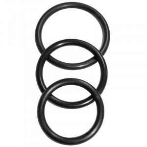 SM Nitrile Cock Ring 3 Pack