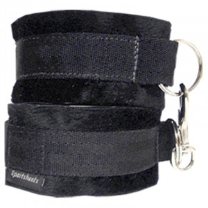 Sportsheets Soft Cuffs - Black