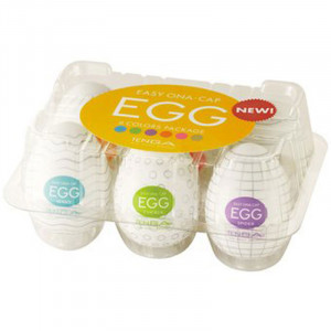 TENGA Eggs - Assorted 6 Pack