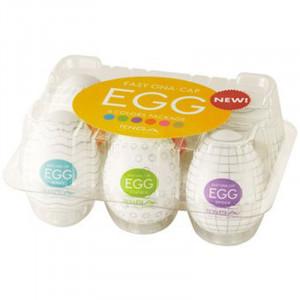 TENGA Eggs - Assorted 6 Pack