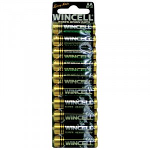Wincell AA Super Heavy Duty Card (10 Pack)