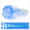 Fleshlight Turbo Thrust Blow Job Imitator - Blue Ice