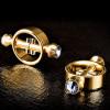 Fetish Fantasy Gold - Magnetic Clamps - Gold