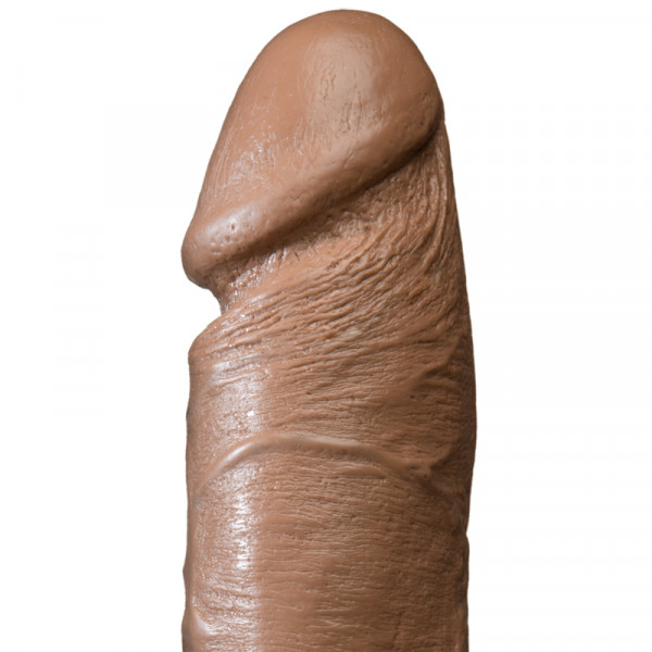 The Realistic Cock 8 Inch - Brown