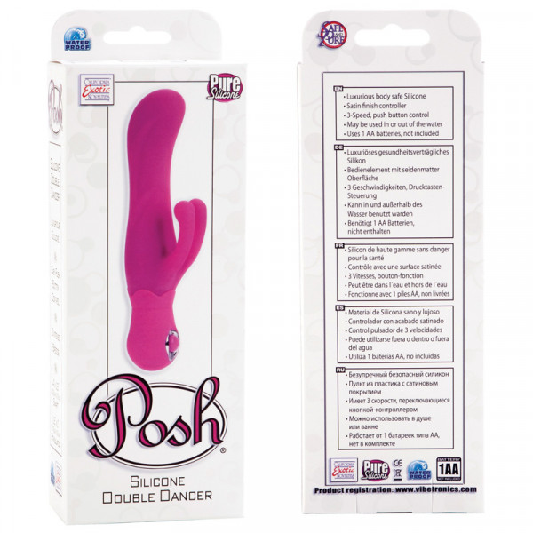 Posh Silicone Double Dancer - Pink