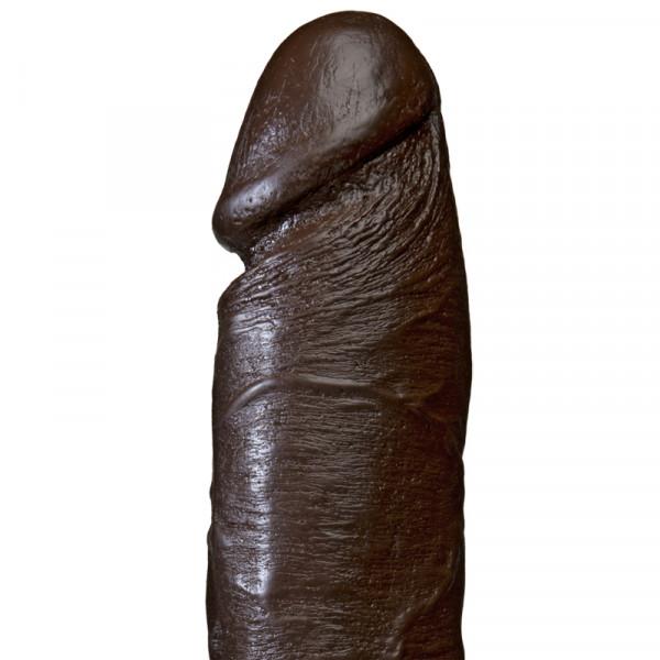The Vibro Realistic Cock 6 Inch - Black