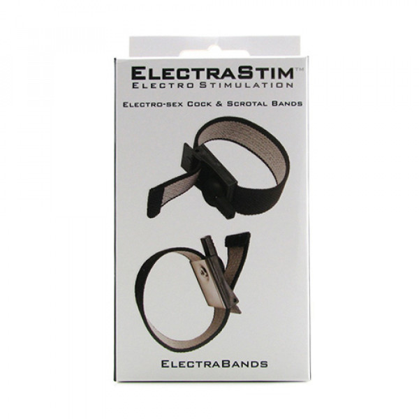 ElectraStim Adjustable Fabric Cock And Scrotal Loops - Box