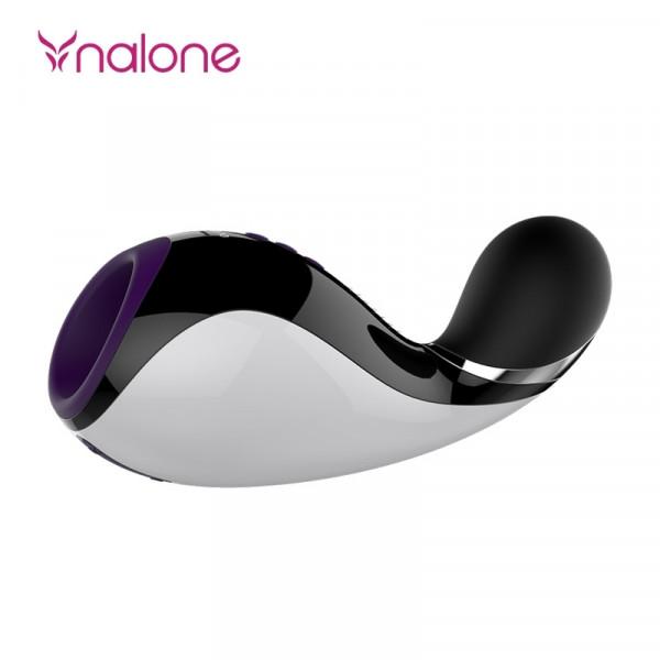 Nalone Oxxy Rechargeable Vibrating Bluetooth Masturbator - Purple