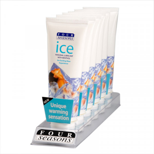 Ice Lubricant 3.3 Oz (Lube, Lotion, Toy Cleaner)