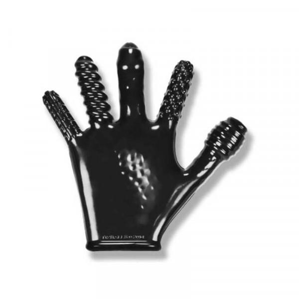 Oxballs Finger Fuck Glove Anal Probe-Black