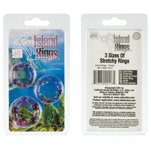 Island Rings (Mens Toys) Purple-2