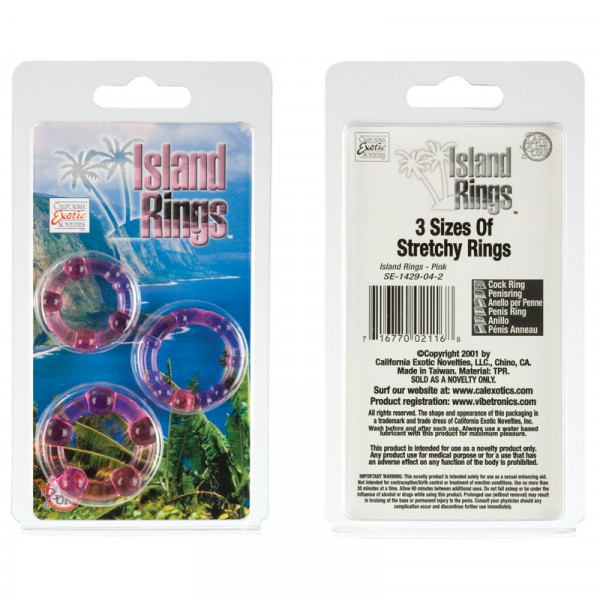 Island Rings (Mens Toys) Pink-2