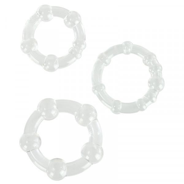 Island Rings (Mens Toys) White