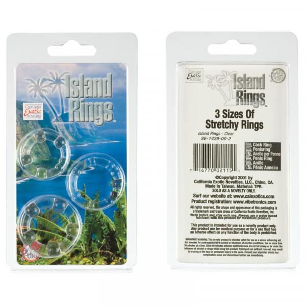 Island Rings (Mens Toys) White-2