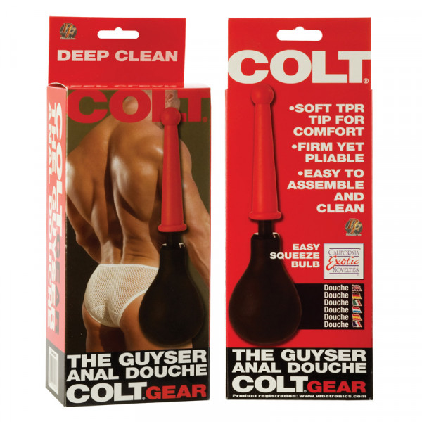 Colt the Guyser Anal Douche Black