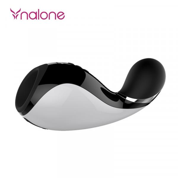 Nalone Oxxy Rechargeable Vibrating Bluetooth Masturbator - Black