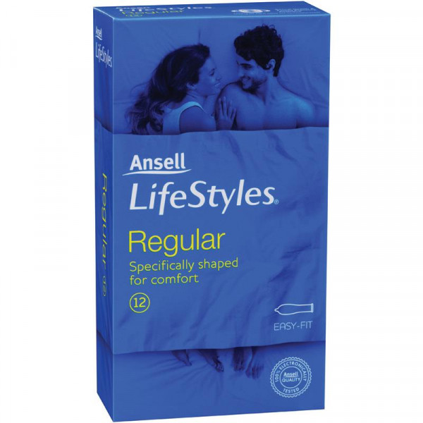 Ansell Lifestyles 12s Regular