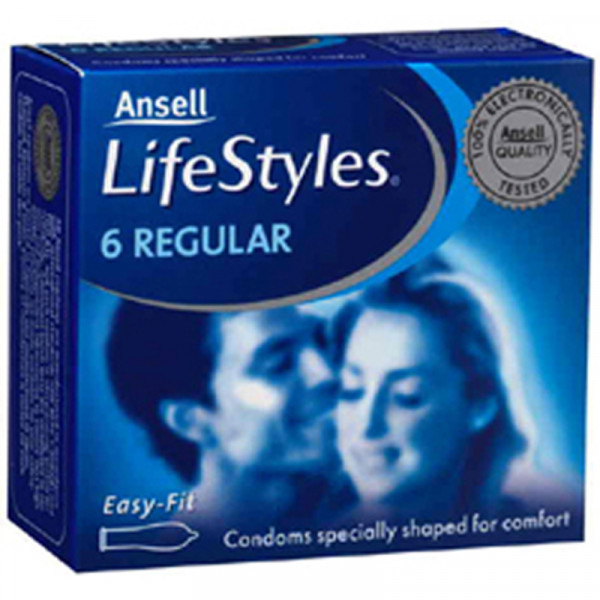 Ansell Lifestyles 6s Regular