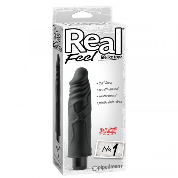 Real Feel Lifelike Toyz No. 1 - Black